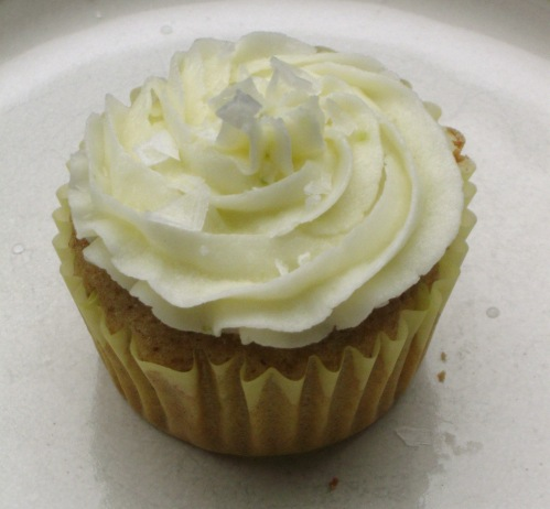Lemon Lime Zucchini Cupcake